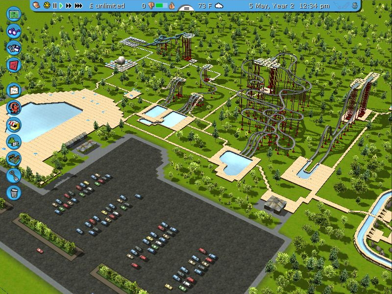 View Image: RCT3 Platinum 23 Water park overview